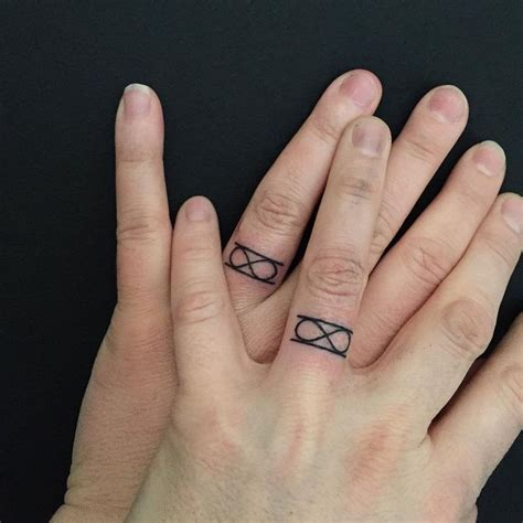 equal tattoo on finger 25 best ideas about infinity ring tattoos on pinterest
