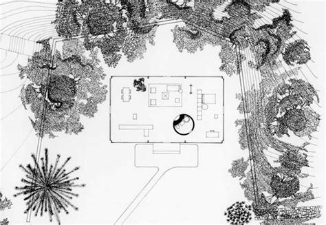 philip johnson glass house plan philip johnson s other career landscape architecture site plans the o jays and