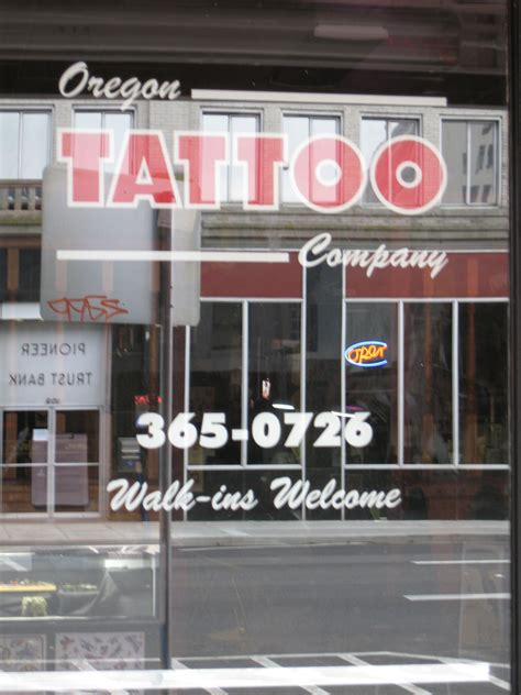 best tattoo shops in oregon oregon company salem oregon shops