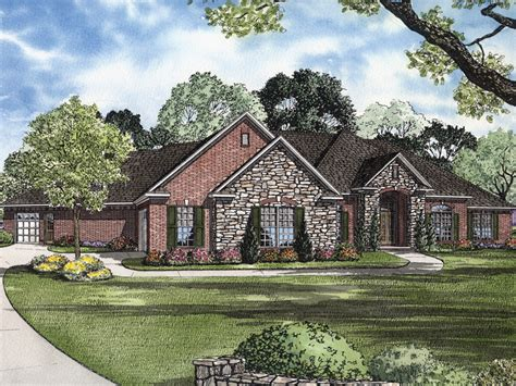 Luxury Ranch Floor Plans laddonia manor luxury home plan 055s 0065 house plans