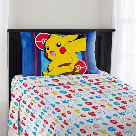 pokemon bed sheets full pok 233 mon bedding are the coolest