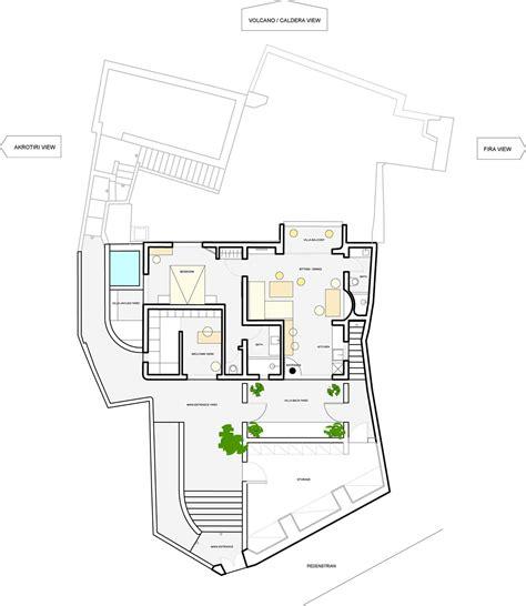 aria sky suite floor plan la vida breve villa fira santorini aria suites