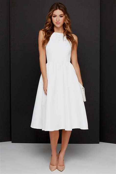 Best Classy White Dress Photos 2017 ? Blue Maize