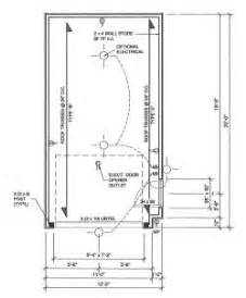 Size Of Single Car Garage One Car Garage Plans Choosing The Best Single Car Garage
