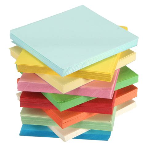 Sided Origami Paper Uk - 100 520 sheets origami square paper sided coloured