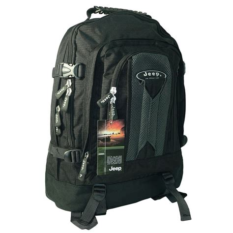 jeep 17 16 15 quot inch laptop travel backpack rucksack cabin