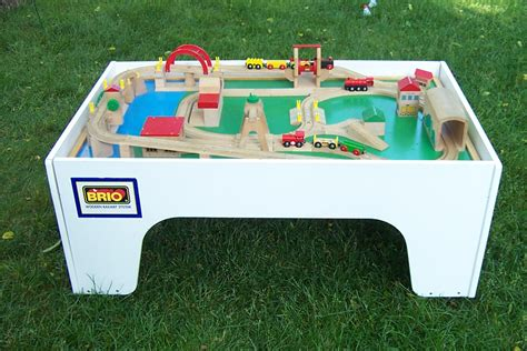 brio wooden railway system table the s catalog of ideas
