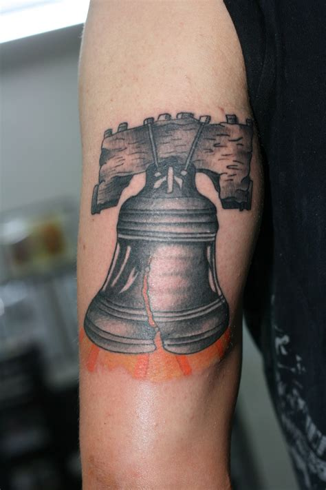 liberty bell tattoo liberty bell tricep by lucky cat on deviantart