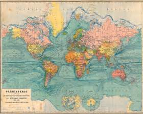 vintage maps antique world map 1929 large 26 by 21 inches