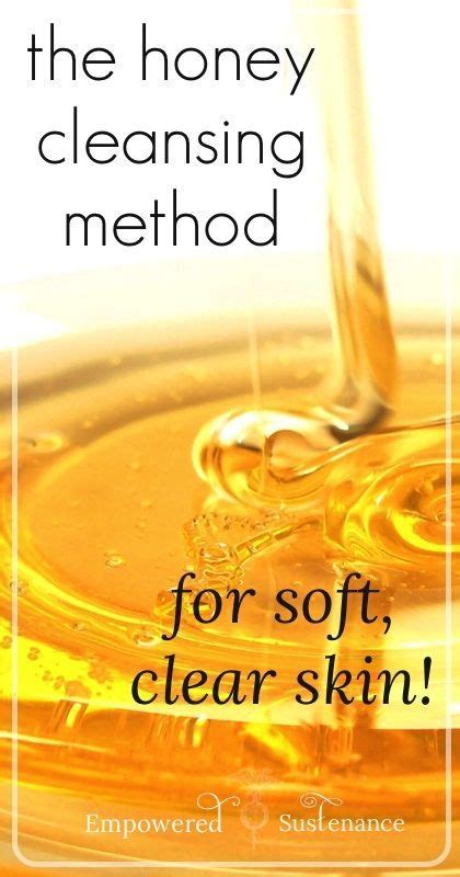 Detox Cleanse For Clear Skin by The Honey Cleansing Method For Clear Smooth Skin