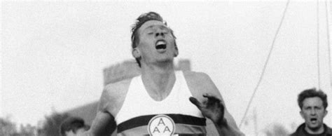 Roger Banister by Roger Bannister Four Minute Mile Inspirational Stories