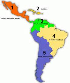 regions of south america map the 2013 america regional contest america
