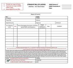 bill of lading template word bill of lading template excel selimtd