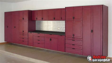 Garage Storage Norfolk Redline Garagegear Garage Cabinets Their Way To