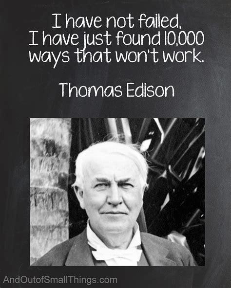 printable thomas edison quotes thomas edison quote