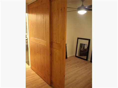 Interior Doors Sliding On Tracks Interior Sliding Barn Doors With Overhead Track Saanich
