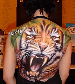 full body tattoo tiger artistmikemiller tribal tiger tattoo designs