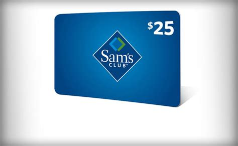 free 25 sam s club gift card - Sams Gift Cards
