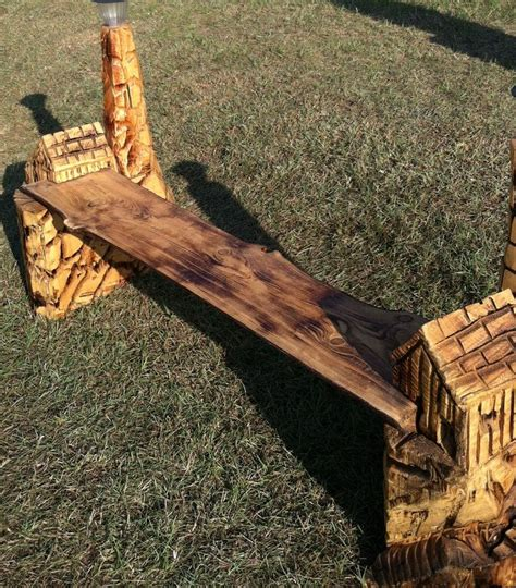 chainsaw carved bench 1000 images about wood carvings on pinterest carving