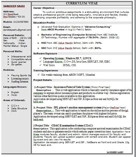 one page resume template word best resume collection
