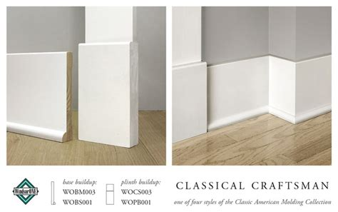 baseboards sizes windsorone classical craftsman plinth block base molding
