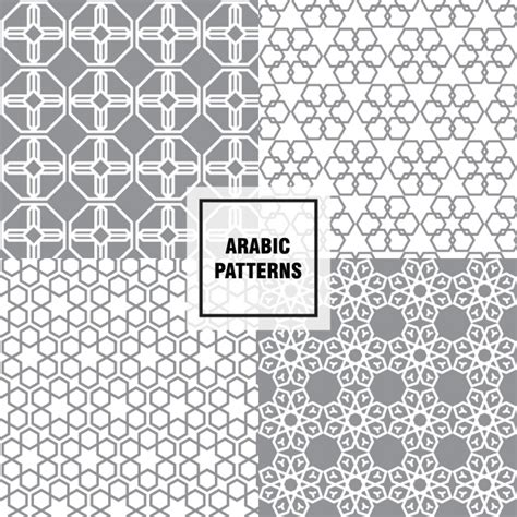download arabic pattern vector arabic pattern design vector free download