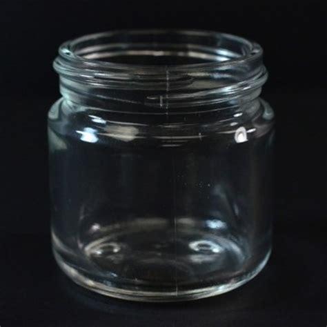 Glass Jar L Base 60 ml special volga clear glass jar alameda packaging