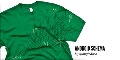 T Shirt Android User this week only grab the android schema t shirt from