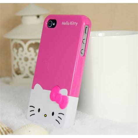 Casing Hello For Iphone 4 4s hello for iphone 5 pink