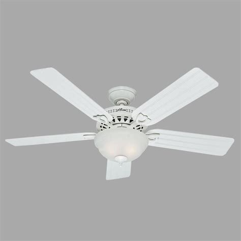 white ceiling fan beachcomber 52 in indoor white ceiling fan with