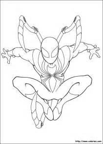 coloriage iron spider