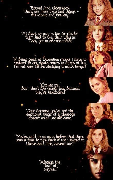 hermione granger quotes or worse expelled