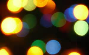 colorful lights colorful light circles 1440 x 900