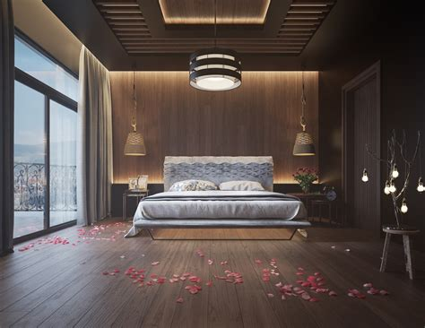 In The Bedroom 11 ways to make a statement with wood walls in the bedroom
