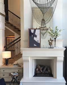 Composite Fireplace composite fireplace hearth and studded mirror