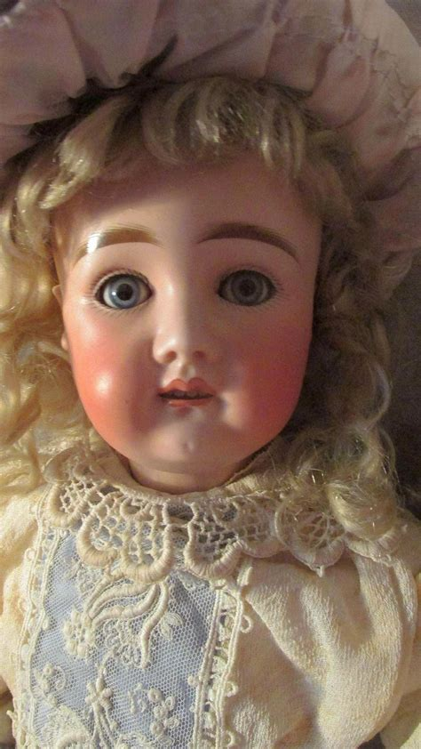 early bisque doll early 1880s bisque doll with original