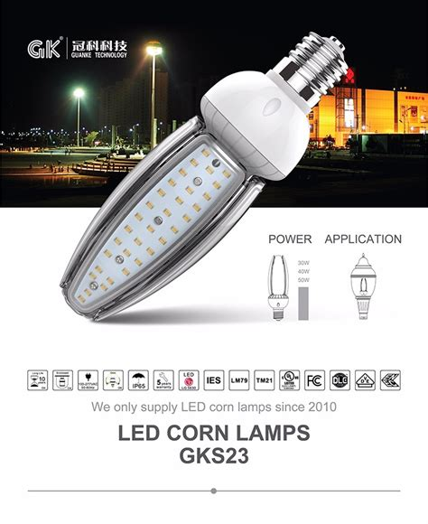 Led Jagung china enec ip65 30w led jagung mentol 1900k 6000k taman
