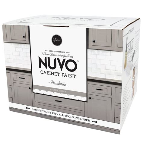 nuvo cabinet paint hearthstone nuvo hearthstone cabinet paint kit giani inc