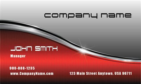 car radar business card template silver and stainless car business card design 501301