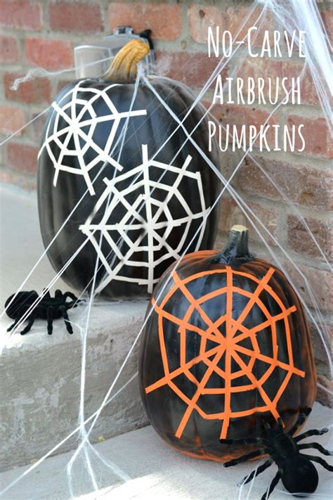 carve spider web pumpkins   takes