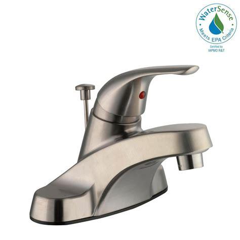 glacier bay single handle kitchen faucet glacier bay aragon 4 in centerset single handle low arc