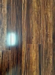 12mm coffee bamboo laminate acoustic underlay backed