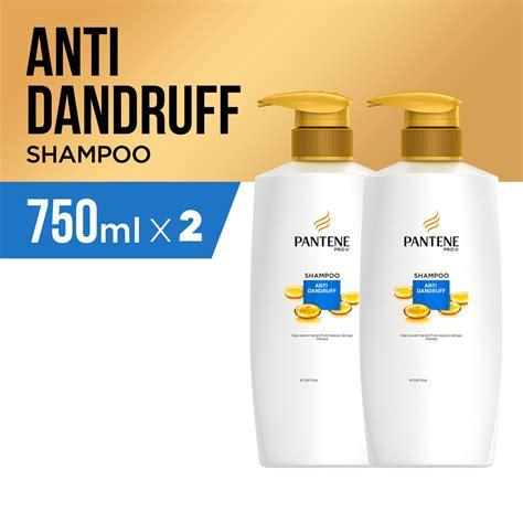 Harga Pantene 750ml pantene shoo anti dandruff 750ml paket isi 2 shopee
