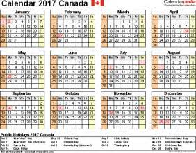 Calendar October 2017 Word Doc Canada Calendar 2017 Free Word Calendar Templates