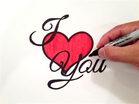 draw  love    heart youtube