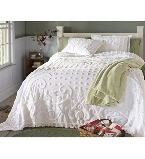 crystal chenille cotton king bedspread home bedrooms