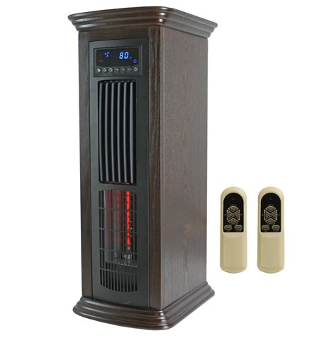 tower fan and heater lifesmart lifepro 1 500 sq ft portable 4 in 1 infrared