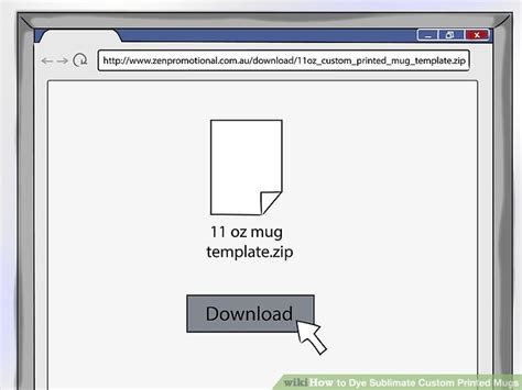 How To Dye Sublimate Custom Printed Mugs 11 Steps With Pictures 11 Oz Mug Template Size