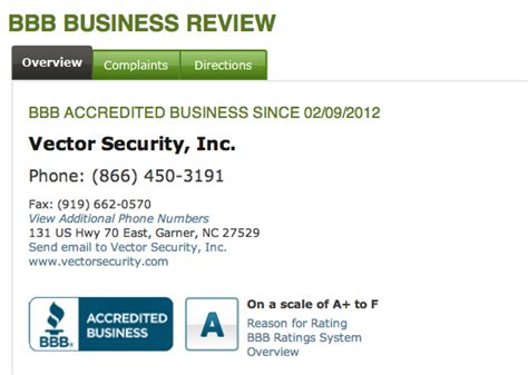 vector security reviews real customer reviews