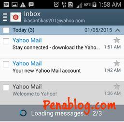 yahoo mail android cara menambahkan email yahoo di android